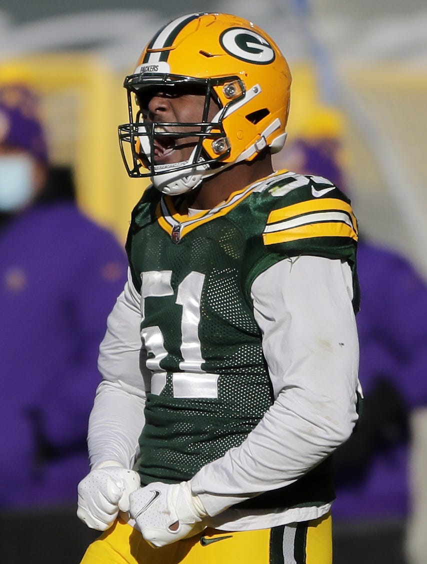 After playing in 49ers game, Packers linebacker Krys Barnes tests positive for COVID-19