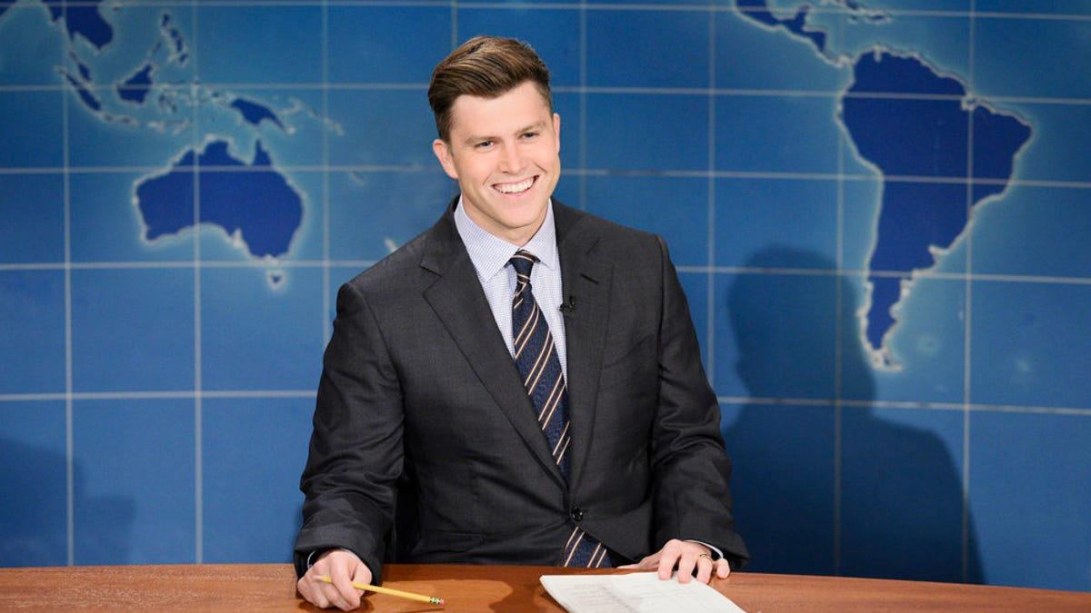 'SNL': Jason Sudeikis' Devil says Colin Jost 'baby trapped' Scarlett Johansson into marrying him