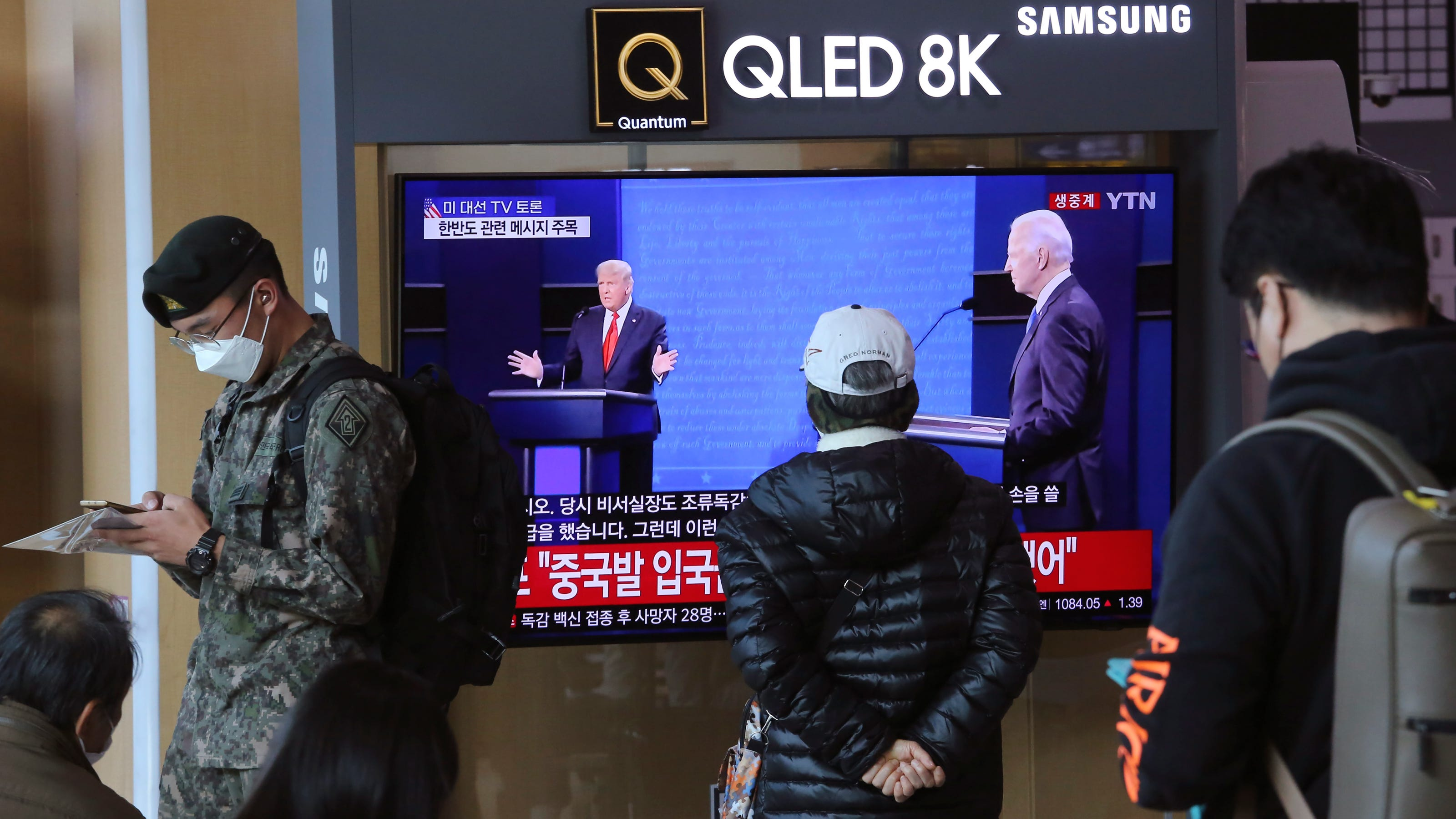 'Clear but unspoken preference': As America votes, the world watches with bated breath