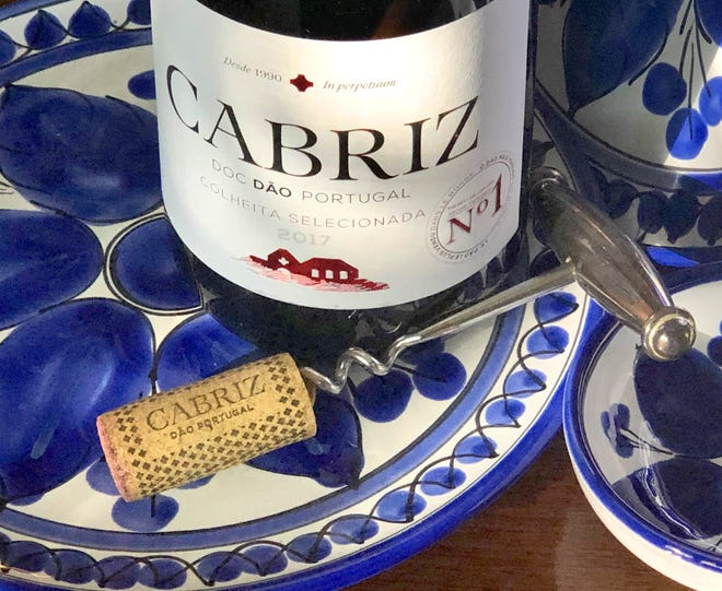 Cabriz's red blend of three grapes is delicious and affordable.