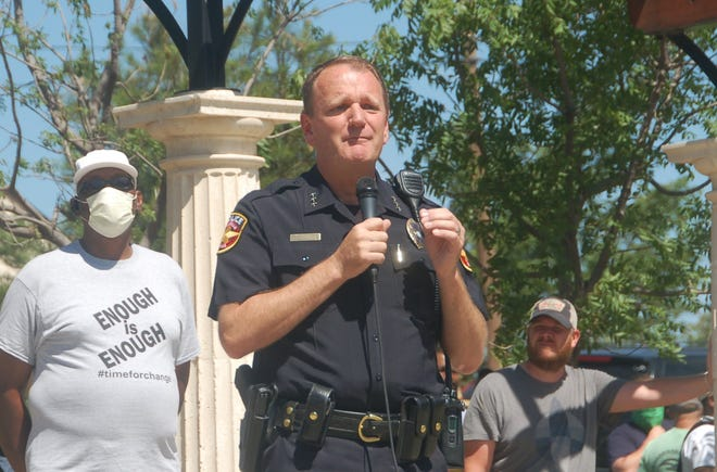 Amarillo Police Chief Martin Birkenfeld said the department's underage drinking initiative recently resulted in a series of citations being issued for underage alcohol consumption.