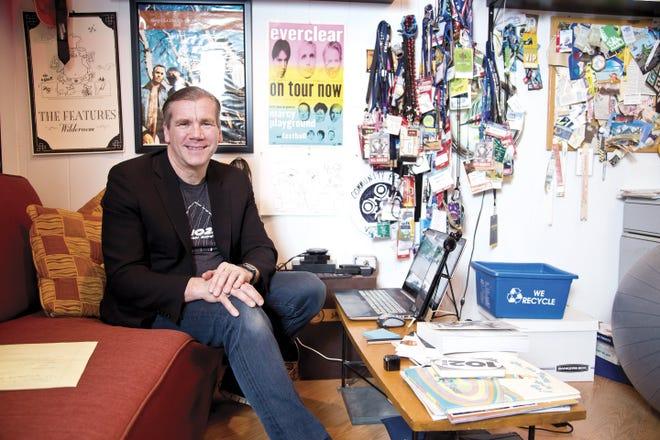 Randy Malloy, owner of the alternative-rock radio station