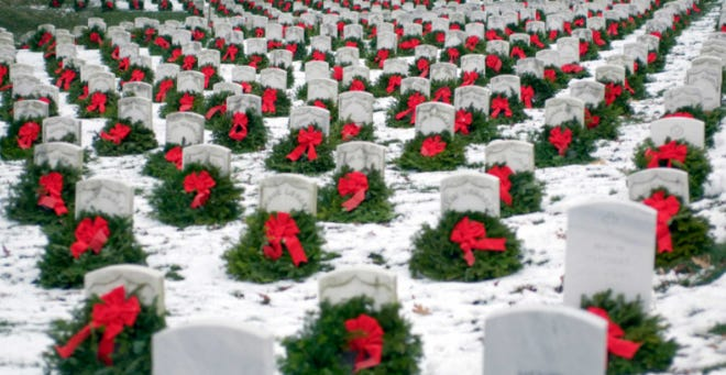 """""""Wreaths Across America"""" will have a different look this year due to the COVID-19 pandemic, according to Americorps Seniors of Steuben County/RSVP Coordinator Christine Towner."""
