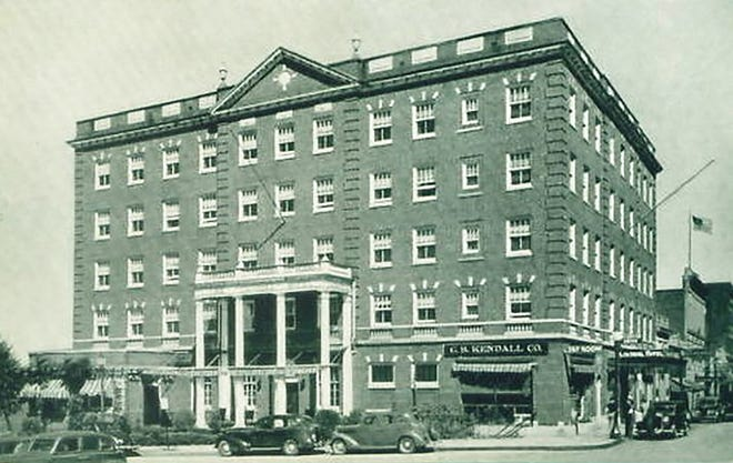 The Colonial Hotel and Tap Room in Gardner, circa 1940s.