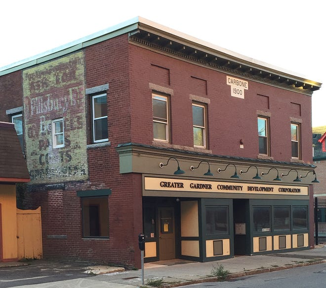 A recent view of the Carbone Block in Gardner.