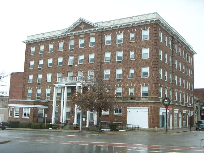 A recent view of the Colonial Apartments in Gardner.