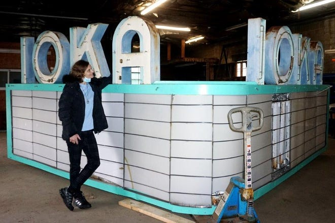 Laurie A. Couture is working to find a new home for Exeter's Ioka marquee.