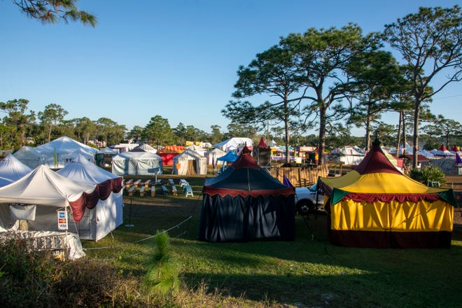 The inaugural Suncoast Renaissance Festival, featuring the same organizers as Brevard Renaissance Fair in Melbourne, Florida (pictured here), is scheduled to debut Saturday-Sunday at Sarasota Fairgrounds.