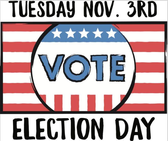 Nov. 3 - Election Day