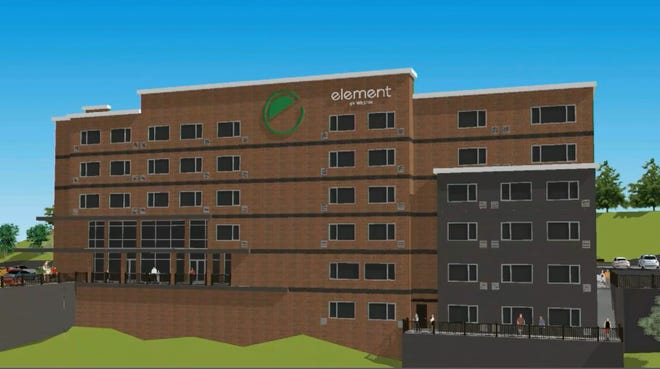 A new Element by Westin hotel is planned for 21st Avenue and Jack Warner Parkway.
