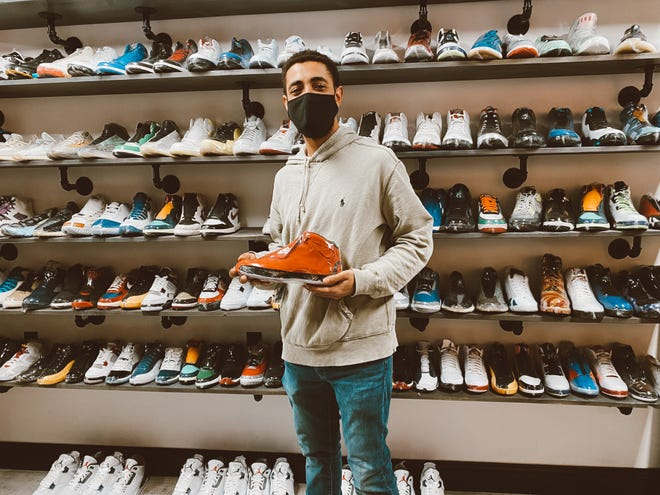 Vaughn Slowaski was born and raised on Providence Street, just up the hill from his new shop, Scoop Drip. Scoop Drip sells exclusive sneakers, snacks, and streetwear.