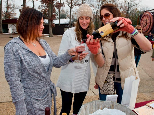 Six Flags Great Adventure in Jackson will host Holiday Wine Fest Saturday, Nov. 14 and Sunday, Nov. 15 to kick off the annual Holiday in the Park festivities.
