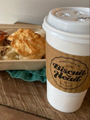 Breakfast delivery from Biscuit Head via Kickback AVL.