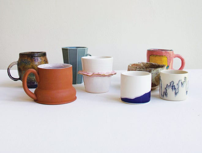 The 10th annual Cup Sale at the Cranbrook Art Museum will feature cups made by graduate students in Cranbrook's ceramic program.
