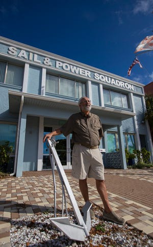 "Tom Dawson of the Cape Coral Sail and Power Squadron is the author of the new book, ""Safe Boating in Southwest Florida, Cape Coral Edition: Your Guide to the Many Channels of Our Waterways."""