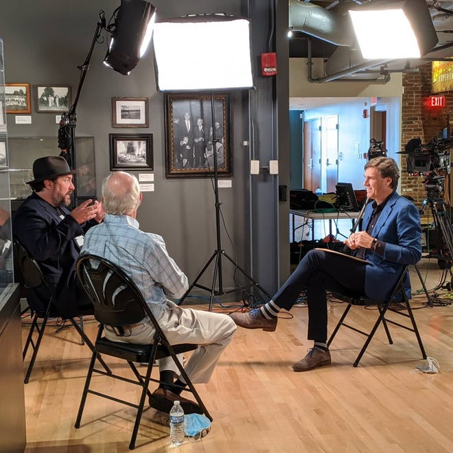 Lee Cowan interviews  Julian P. Van Winkle III, and Wright Thompson for CBS Sunday Morning at the Frazier History Museum