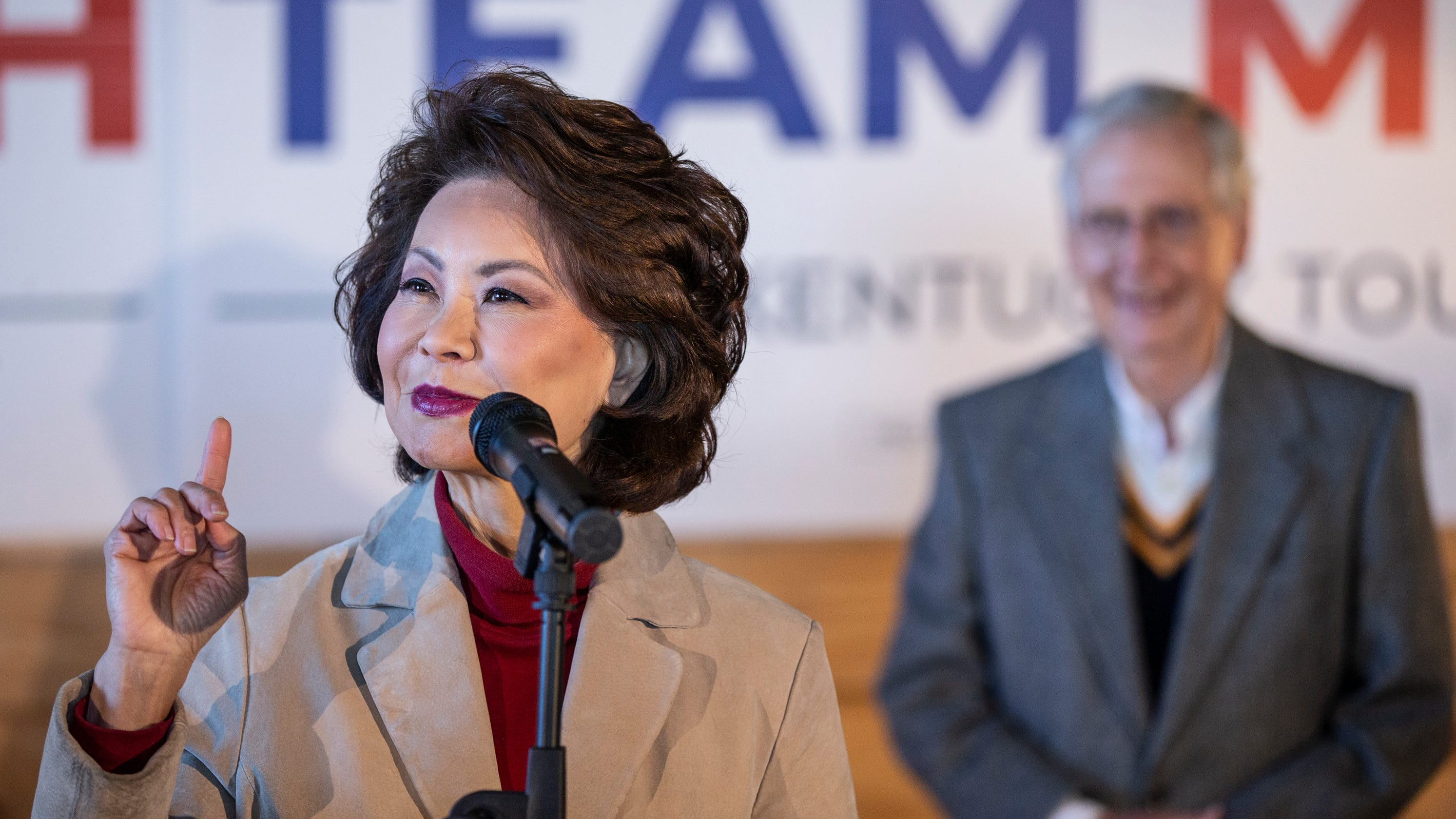 Internal watchdog said ex-Transportation Secretary Elaine Chao misused position, referred case for prosecution