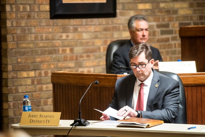 """Prattville Council President Jerry Starnes, who represents District 4, said: """"I don't like not being able to tell the public what we are doing. But sometimes when you are dealing with a seller, you have to play by their rules and stipulations."""