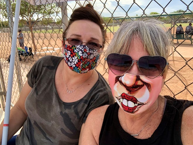 Should we just cancel Halloween? My Aunt Dana and I considered the question on Saturday as we sat six feet apart on the top row of otherwise empty bleachers at my cousin Theresa's softball game.