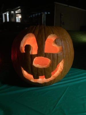 Pumpkin carving and social distant treats