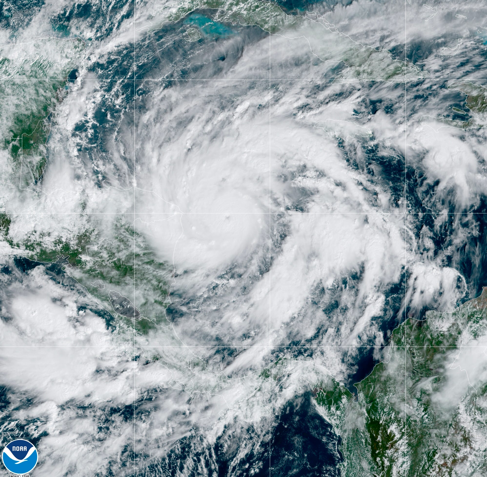 Hurricane Eta strengthens to Category 4, threatens to bring 'catastrophic' damage to Central America