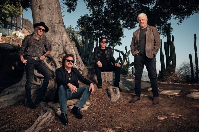 Pat Simmons, left, Tom Johnston, John McFee and Michael McDonald of the Doobie Brothers.
