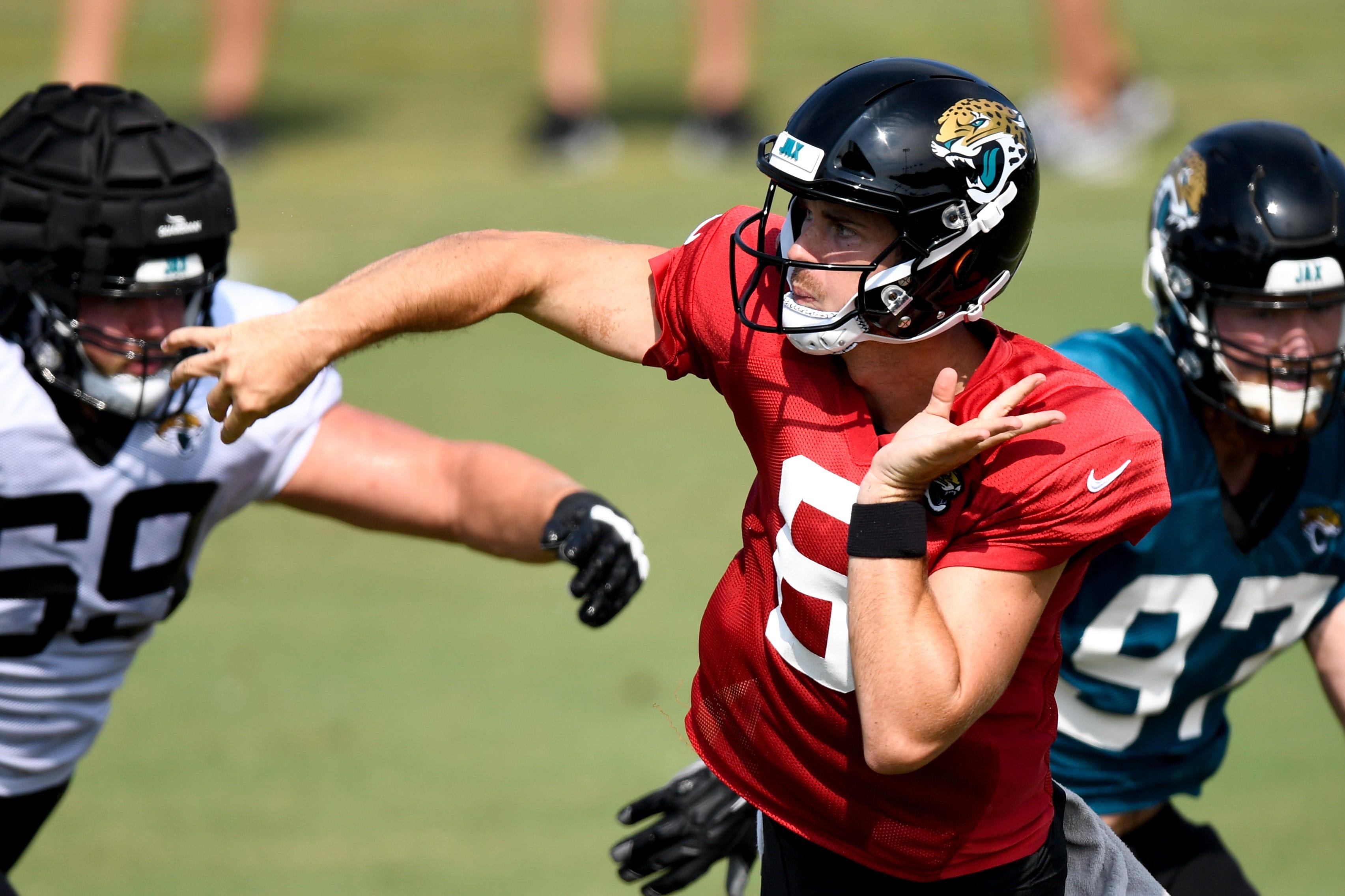 Jaguars to start sixth-round rookie QB Jake Luton in place of injured Gardner Minshew