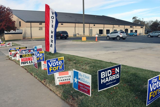Trinity Baptist Church serves as one of the Election Day voting locations for Potter County.  [Neil Starkey / For the Amarillo Globe-News]