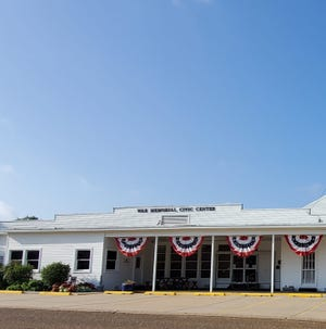 The War Memorial Civic Center was built in 1941 and was the 1st Off Base USO. It was placed on the National Register of Historic Places on 02/25/1992.
