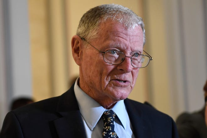 Sen. Jim Inhofe has held the seat since 1994 and is seeking another six-year term.