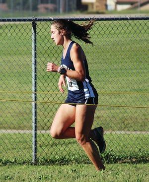 Jillian Skalicky has been the senior leader of this year's state-qualifying Bartlesville High School girls cross country program.
