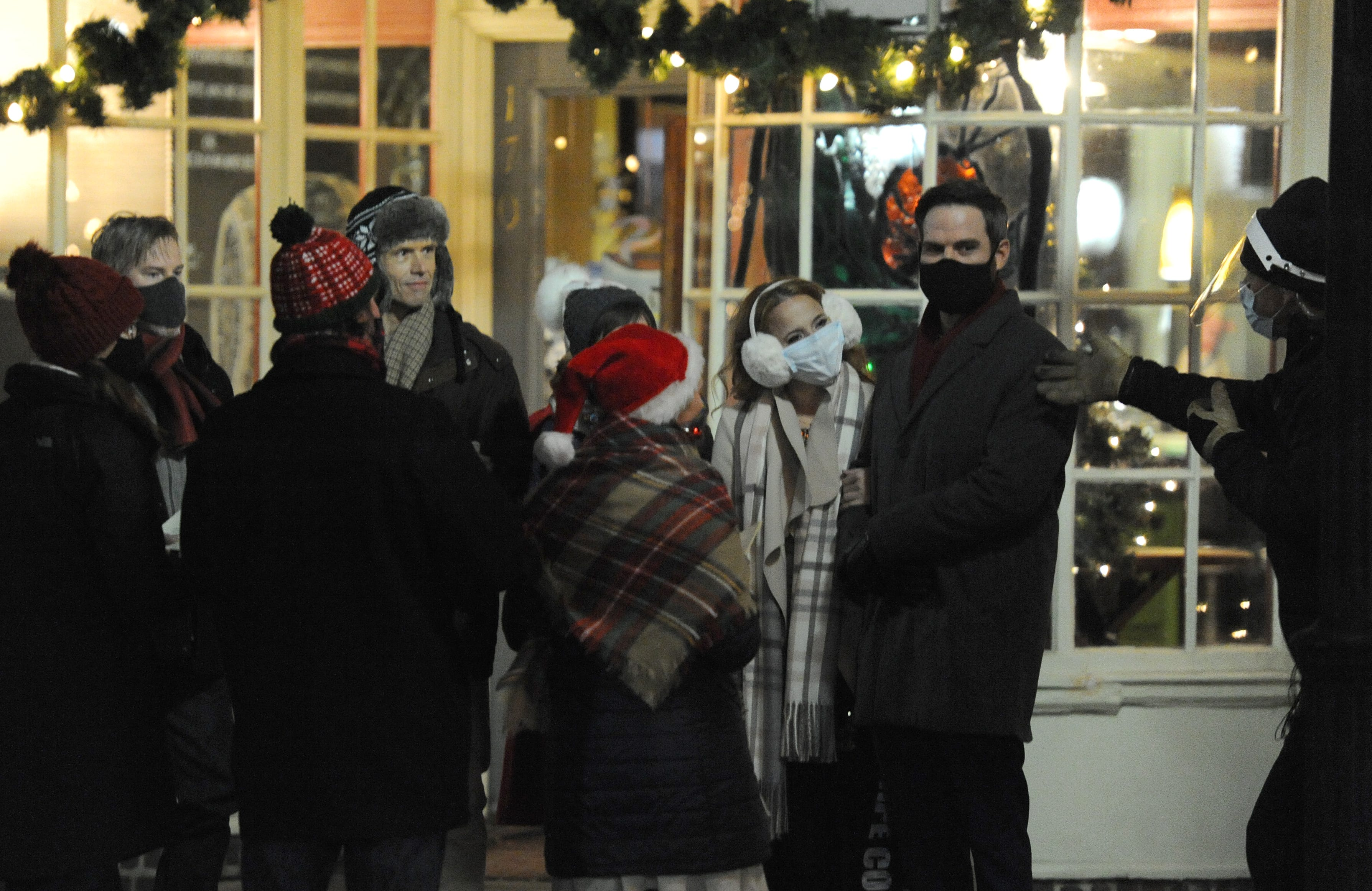 Falmouth Christmas Stroll 2020 Filmmakers create TV Christmas romance in Falmouth