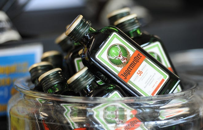 The Mashpee Board of Selectmen voted Monday night to ban the sale of small alcoholic nip bottles effective July 1. Board members said they would reconsider the ban if liquor store owners opposed to the change are able to come up with an alternative solution that would curb littering and drunken driving.