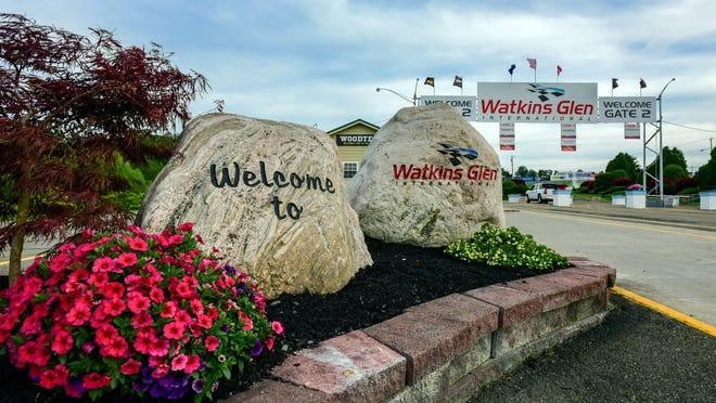 Watkins Glen International raceway.