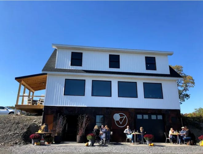 Scout Vineyards is at 468 Route 14 in Penn Yan, overlooking Seneca Lake.