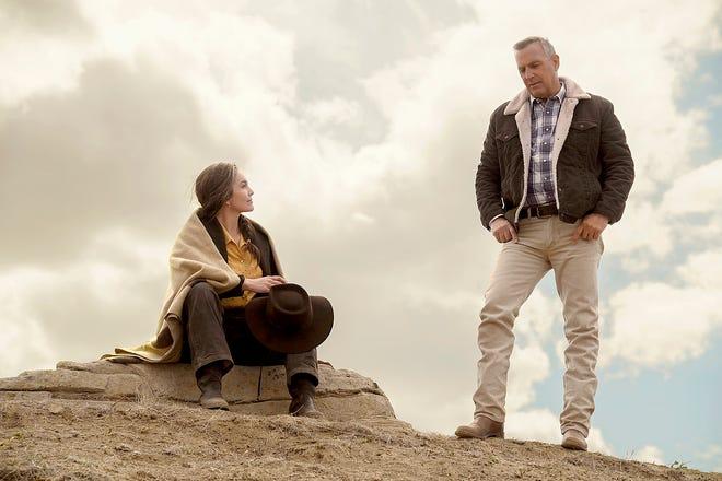 """Diane Lane, left, and Kevin Costner star in """"Let Him Go."""""""