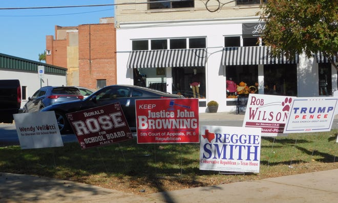 Voters in Grayson County and across the nation went to the polls Tuesday as a part of November elections.