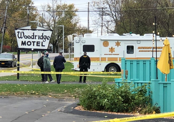 An investigation is continuing into the shooting of a parolee at the Woodridge Motel.
