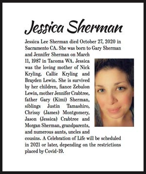 Obituary: Jessica Sherman