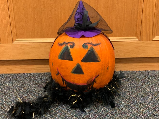 The Rochester Public Library held a pumpkin decorating contest and received 35 entries.