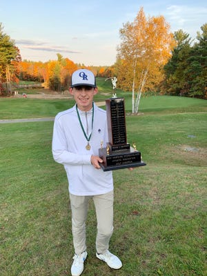 Oyster River High School sophomore Josh Phillips captured the NHIAA Division II state championship last month at Windham Country Club.