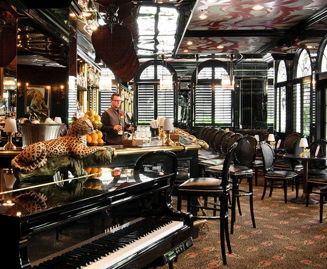 At its Leopard Lounge & Restaurant and the adjacent al fresco Courtyard, The Chesterfield now is featuring a special autumn-themed afternoon tea with mini pumpkin pies, turkey-salad tea sandwiches, cranberry scones and more.