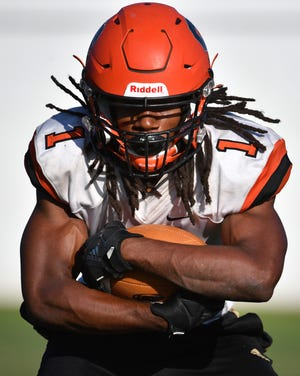 Sarasota High senior Terrell Pack plays nearly every down for the Sailors on offense and defense.  As a receiver, he has 11 catches for 238 yards and fiveTDs. On defense, Pack has 63 tackles and threeinterceptions.