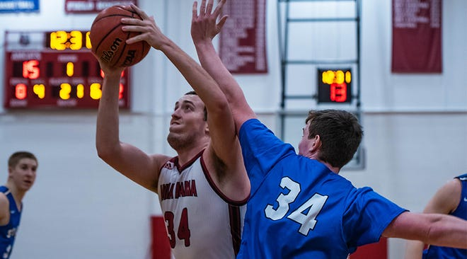 The Anna Maria men's basketball team will not take the court this winter as the GNAC canceled winter sports due to the COVID-19 pandemic.