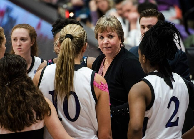 Former Holy Cross women's basketball interim coach Ann McInerney has rejoined the staff at Bentley
