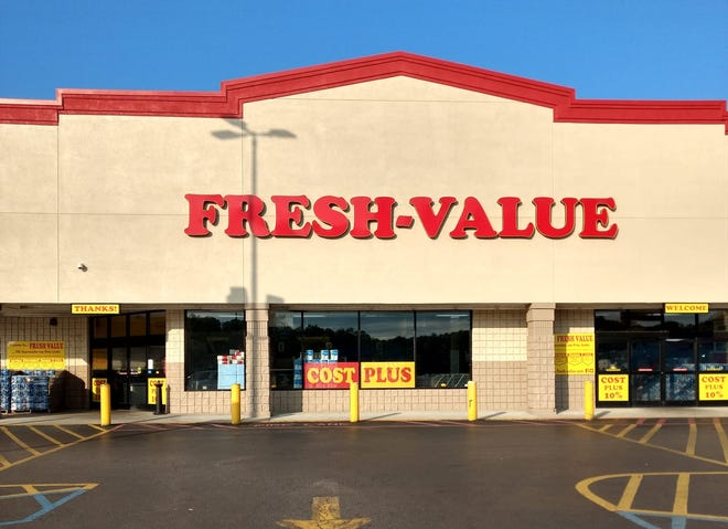 Fresh-Value grocery store is planning to open a location at Canterberry Station in Alabama City. Pictured is the Fresh-Value grocery store in Pell City; the company also has locations in Bessemer and Trussville.