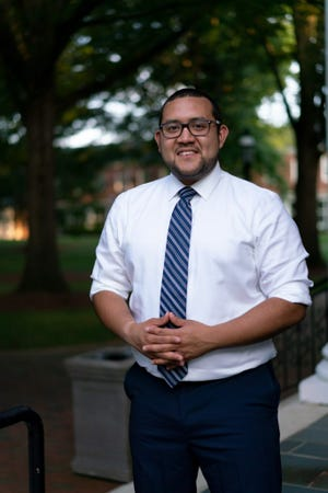 Ricky Hurtado narrowly defeated incumbent Stephen Ross to become the first Latino Democrat elected to the North Carolina General Assembly. [SUBMITTED PHOTO]