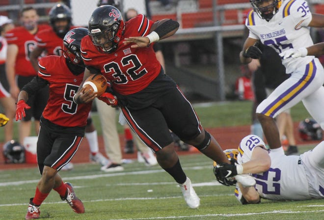 Groveport freshman fullback Keyon Shaver is expected to be one of the top returnees next season for the Cruisers, who finished 5-3 to post their second consecutive winning season.