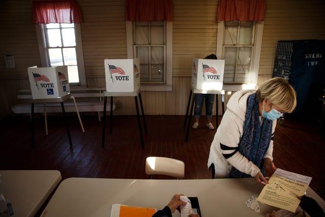 Sherman Township Christmas Service 2020 Election Story County, Iowa: Nevada, Colo residents cast ballots