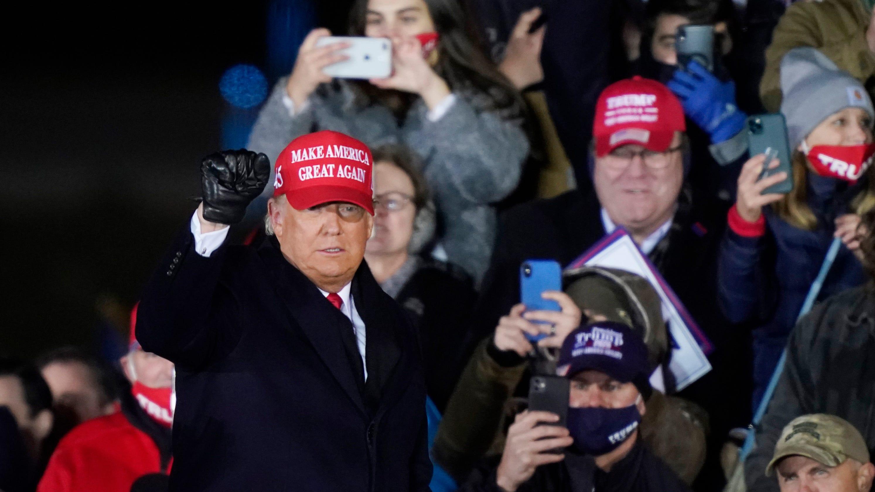 Trump keeps misleading on 2020 election, pressures Michigan Senate